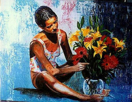 FLORES MELHOR, by Cristiane Campos, Brazil (copyright of the artist)